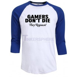 Gamers Respawn 3/4 Sleeve T-Shirt