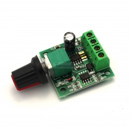 Low Voltage DC Motor Speed Controller: 1.8V-15V 2A