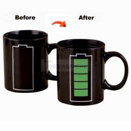 Battery Recharge Heat Change Mug