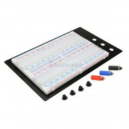 "1660 Point Solderless Breadboard 6.5""Lx4.3""W"