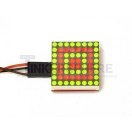 Red / Green 8x8 Bicolor LED Matrix I2C