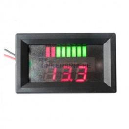 12V Battery Indicator and Panel Mount Voltmeter