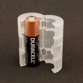 AA to C Battery Size Adapter