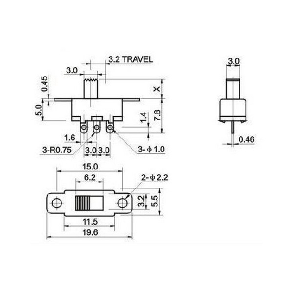 Slide Switch Spdt Wiring - Wire Data Schema •