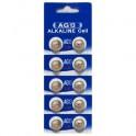 AG13 / LR44 1.5V Coin Cell Batteries (10 Pack)