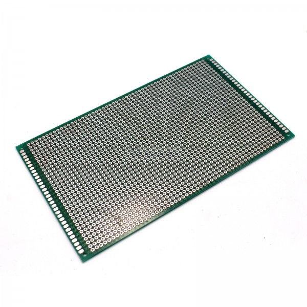 """4 Pack High Quality Double Sided Proto Perf Board with Solder Mask 4/""""x1/"""""""