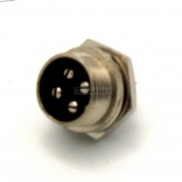 Male Round 4 Pin Connector