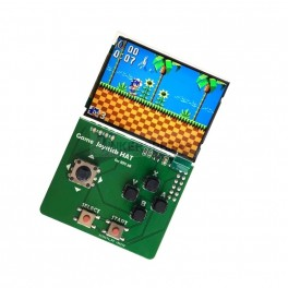Gameboy Style Gamepad Hat for Raspberry Pi