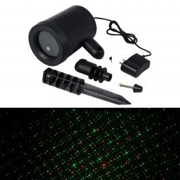 Weatherproof Laser Shower Motion Light