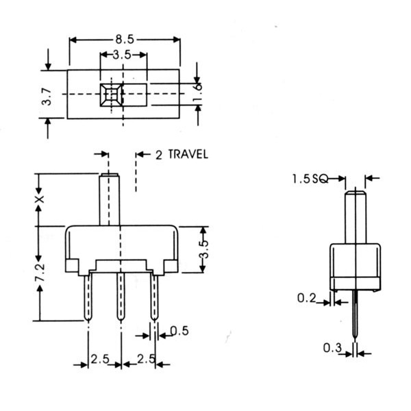 Spdt Slide Switch Wiring - Block And Schematic Diagrams •