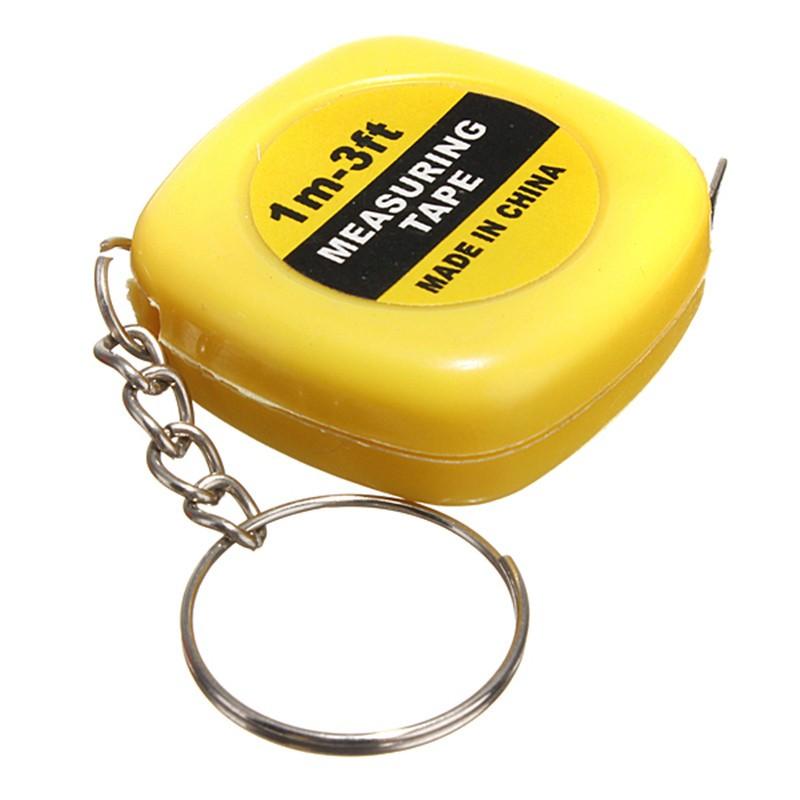 1 99 Mini Tape Measure Keychain
