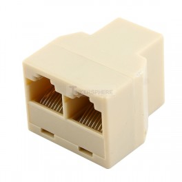 Ethernet Splitter: RJ45 1 to 2