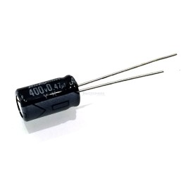 0.47uF 400V Electrolytic Capacitor for High Voltage Audio/Radio