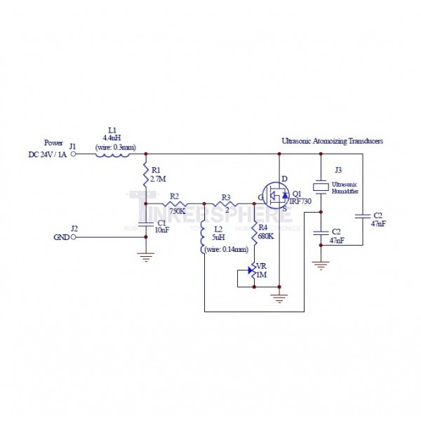 Ultrasonic Humidifier Mist Generator