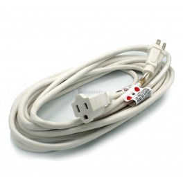 20 foot White Extension Cord