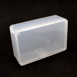 "Clear Project Box: 3.4"" x 2.2"" x 1.2"""