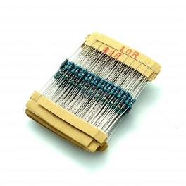 Metal Film Resistor Pack: 300pc 1/4W 1%
