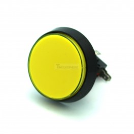 2 Inch Arcade Button - Yellow Illuminated