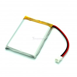 Lithium Ion Polymer Battery with Connector - 3.7v 1200mAh