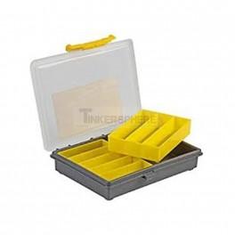 "Electronics Organizer Box - 7"" x 5.5"" x 1.2"""