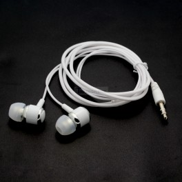 White In Ear Stereo Headphones