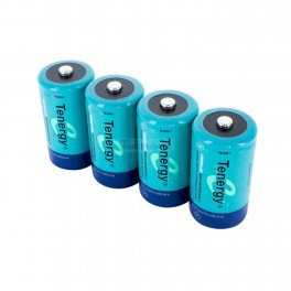 NiMH Rechargeable C Batteries: 4 pack 5000mAH
