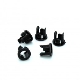 Black Plastic LED Holder (5 pack)