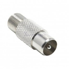 F Type Coax Female to PAL Male Connector