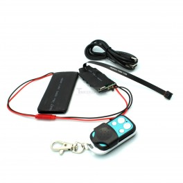 Hidden Spy Camera Recording Set with Remote