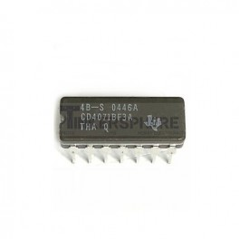 4071 Quad 2-Input OR Gate: CD4071