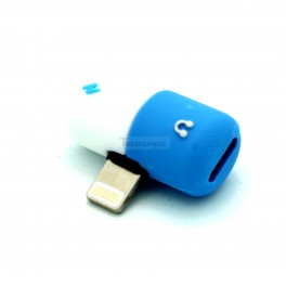iPhone Audio and Charging Adapter Lightning to Dual Lightning Adapter