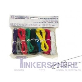 Hook Up Wire Assortment: 10 Color 60m / 196 ft Pack