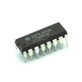 74LS193 Synchronous 4-Bit Binary Counter with Dual Clock
