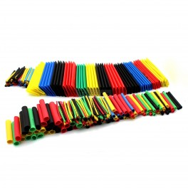 Color Heat Shrink Tube Kit - 328 Pcs