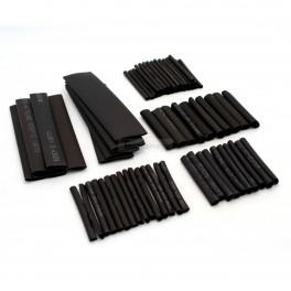 Black Heat Shrink Tube Kit - 70 Pcs