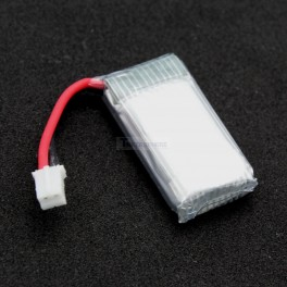 Lithium Ion Polymer Battery with Connector - 3.7v 260mAh