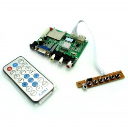 MP5 HD video playback board MP4 video decoder board output VGA microcontroller