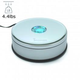 Rotating Platform Display with Color Changing LEDs