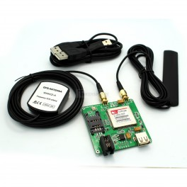 3G Cellular + GPS Breakout - SIM5320A (GPS & GSM Antenna Included)