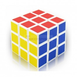 Smooth Stickerless 3x3 Speed Cube