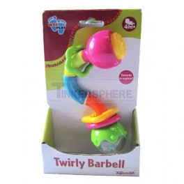 Twirly Barbell Baby Rattle