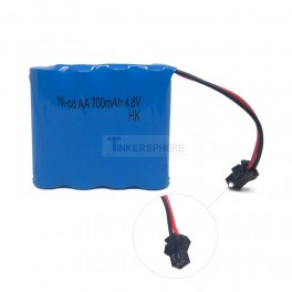 4.8V 700mAh Rechargeable Battery NiCD