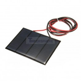 Solar Panel 12V 1.5 Watt with Wire Leads