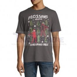 Flossin' Around the Christmas Tree Holiday T-Shirt