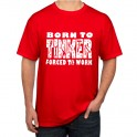 Red Born to Tinker T-Shirt