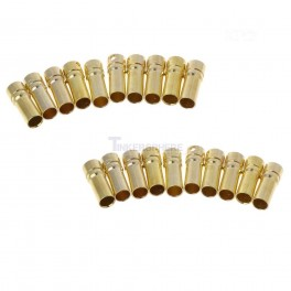 3.5mm  Female Bullet Connector (20 pack)