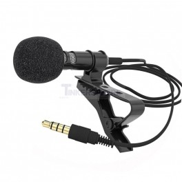 Lapel Microphone 3.5mm 1/8""