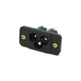 Male Power Connector: IEC 320 C5 / C6
