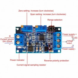Current to Voltage Converter Module