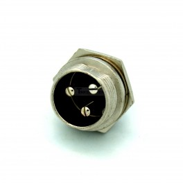 Male Round 3 Pin Connector